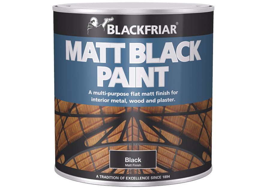 Matt Black Paint Blackfriar
