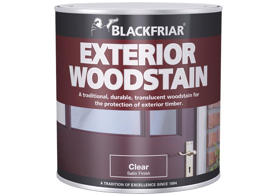 exterior woodstain blackfriar