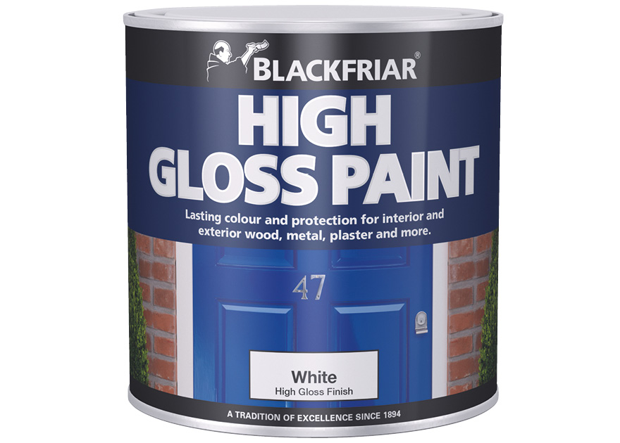 High Gloss Paint Blackfriar