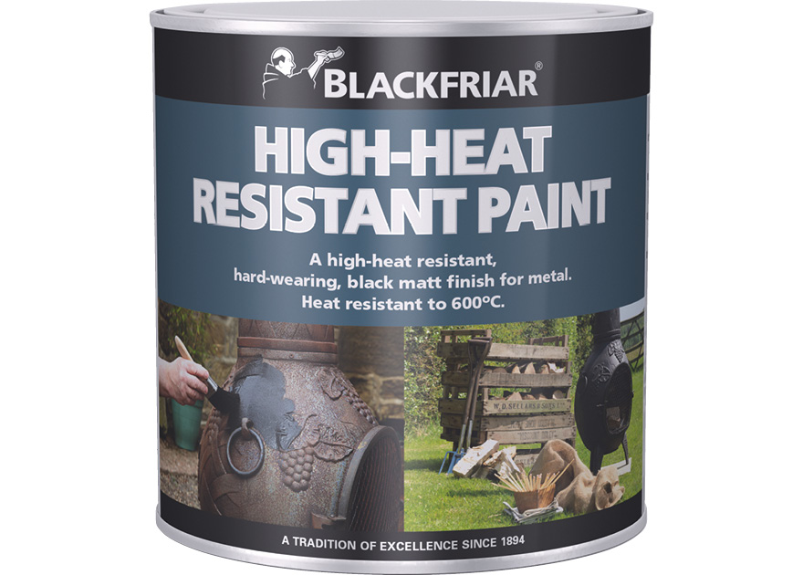 High Heat Resistant Paint Blackfriar