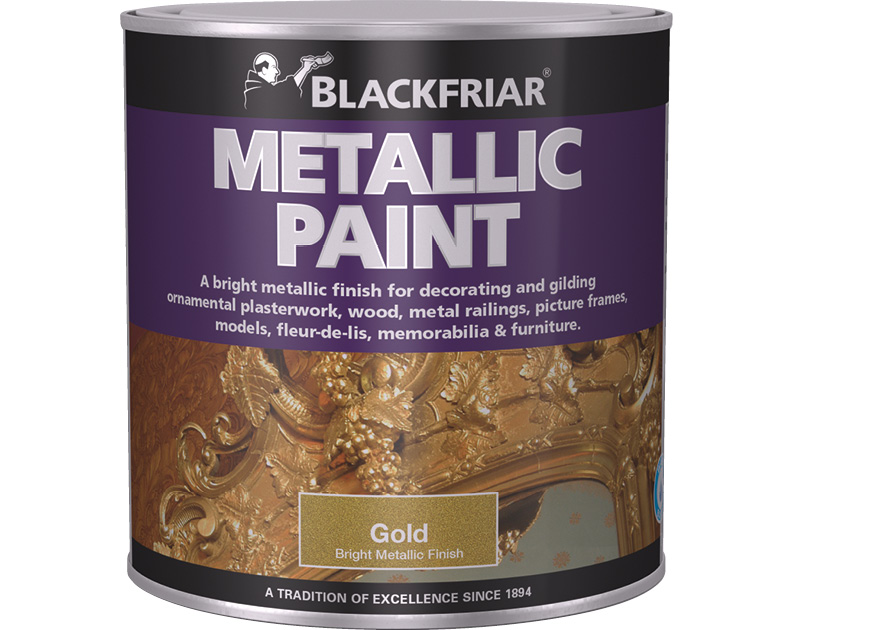 Matt Black Metal Paint