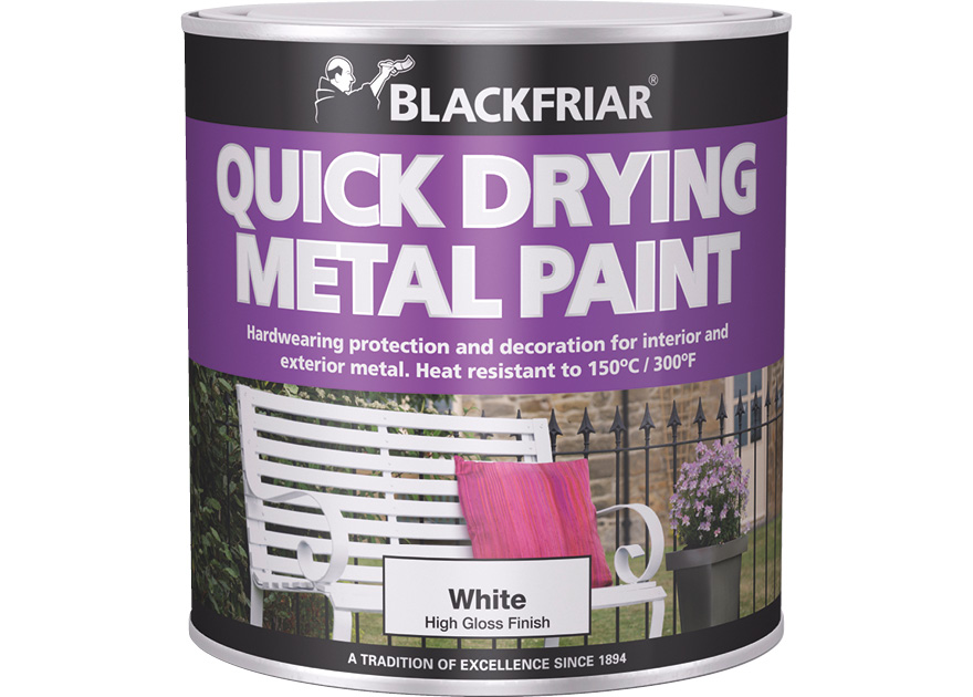 Quick Drying Metal Paint Blackfriar