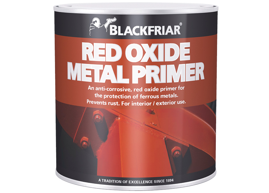 Red Oxide Metal Primer Blackfriar