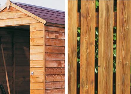 Exterior Wood Preservative Gold Star Blackfriar