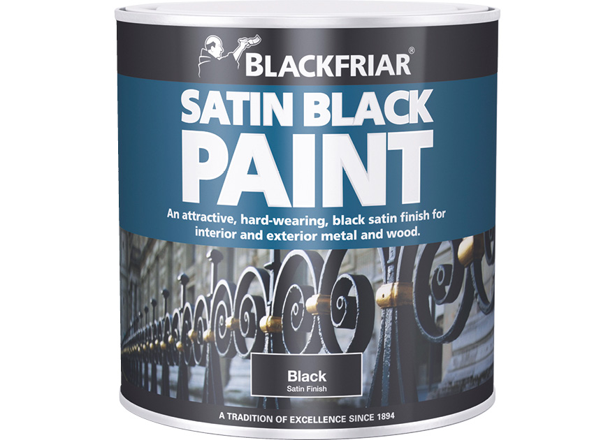 Satin Black Blackfriar