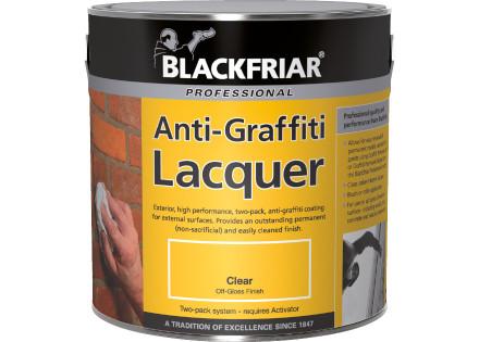 Anti-Graffiti Lacquer