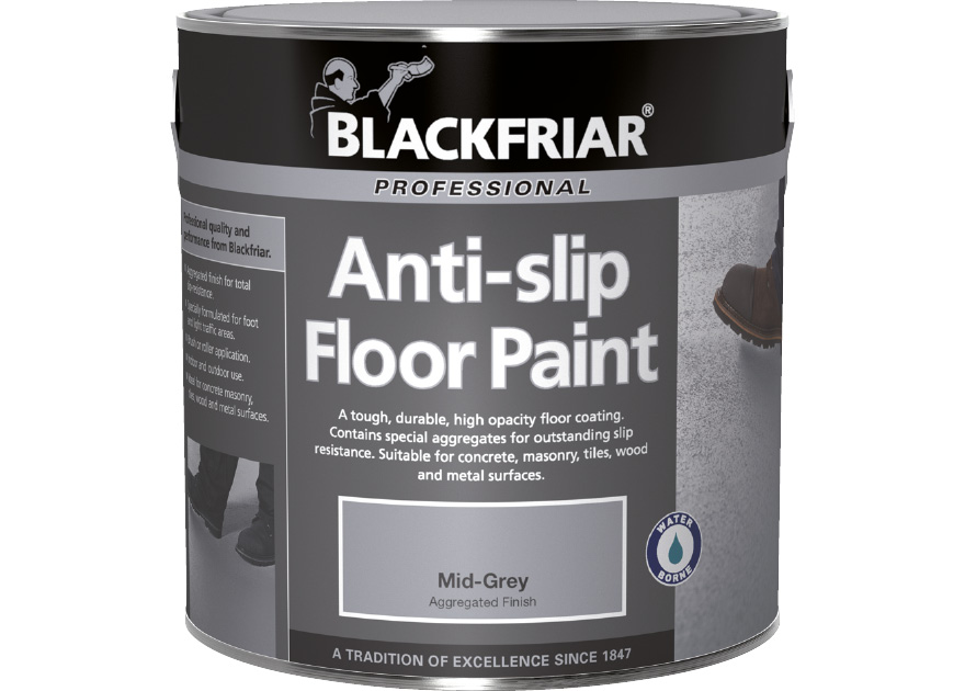 AntiSlip Floor Paint Blackfriar Paints - Anti slip coating for bathroom tiles