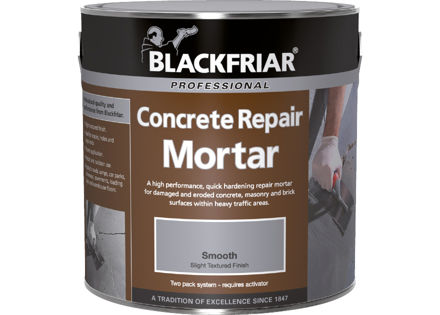 Concrete Repair Mortar Blackfriar Paints