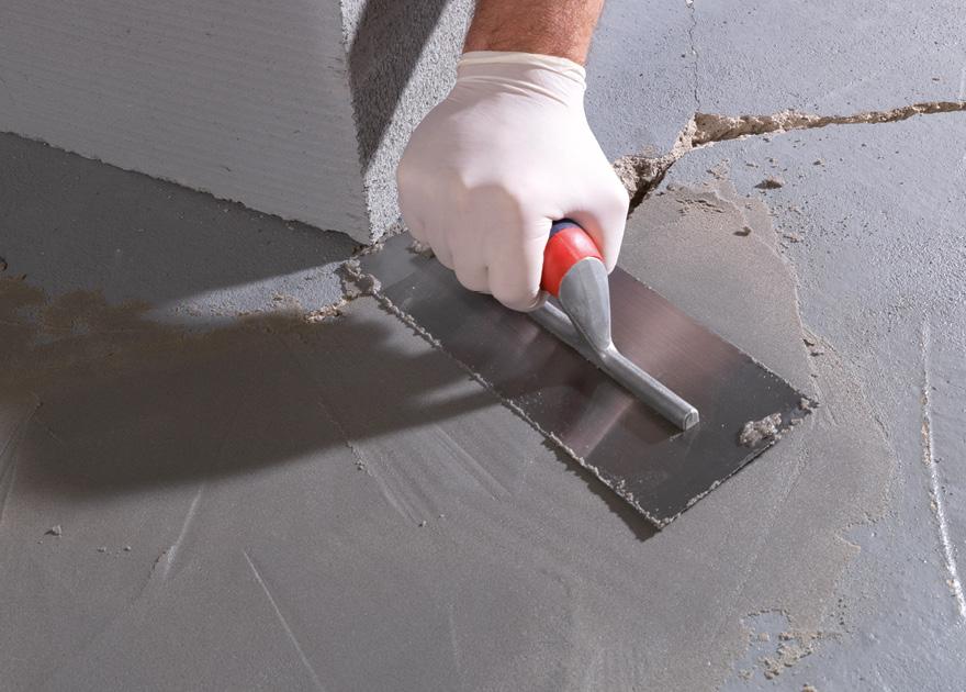 Concrete repair mortar blackfriar paints - Exterior water service line coverage ...