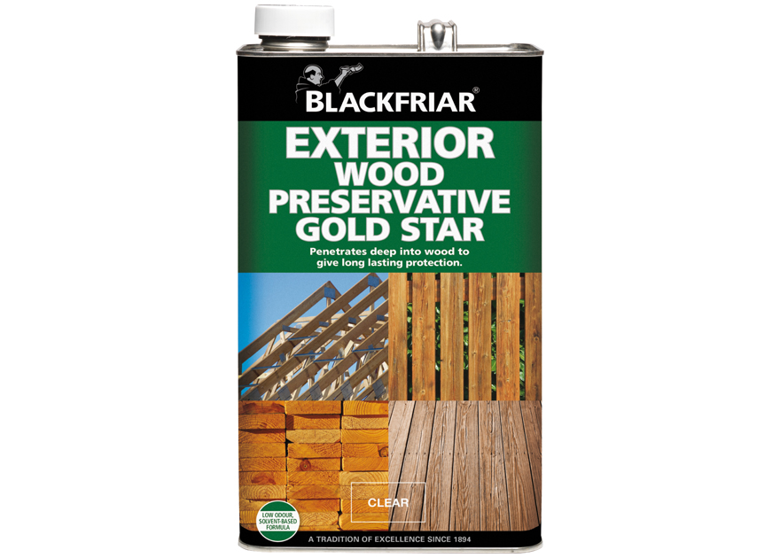 exterior wood preservative gold star blackfriar