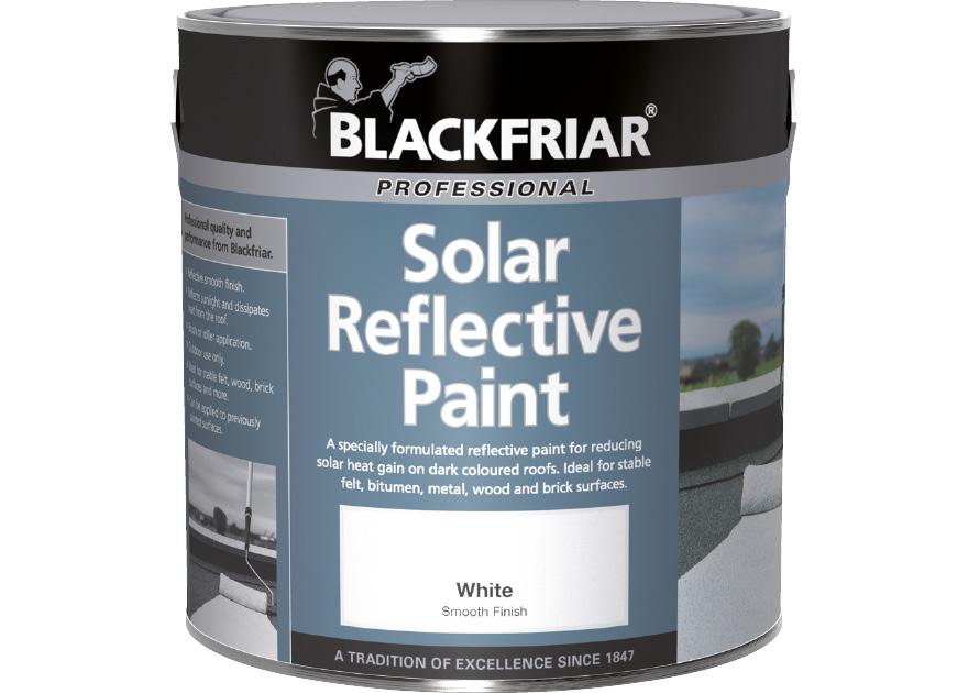 Solar Reflective Paint Blackfriar Paints